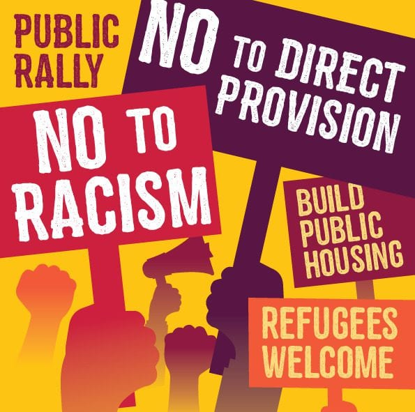 Galway Daily news Galway Anti-Racism Network Direct Provision protest