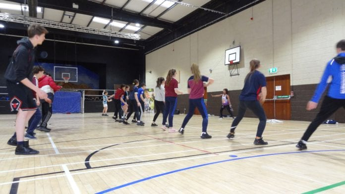 teenagers galway daily PE exercise education nui galway
