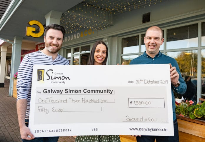 Galway Daily local coffee shop celebrates 1st anniversary with giveback to the Galway Simon Community