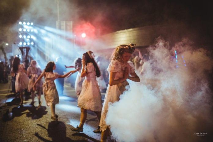 Galway Daily news Macnas Halloween Parade