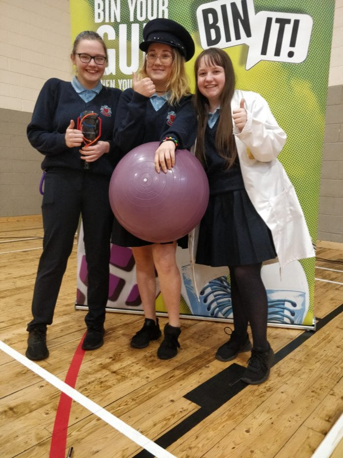 galway daily litter campaign galway schools