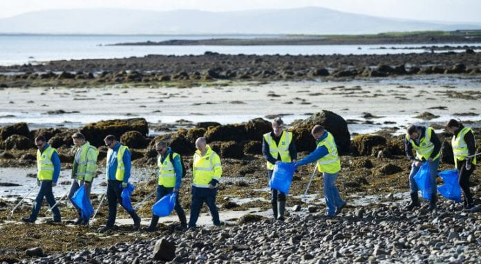 Galway Daily news Beach cleanup highlights risk of flushin wet wipes