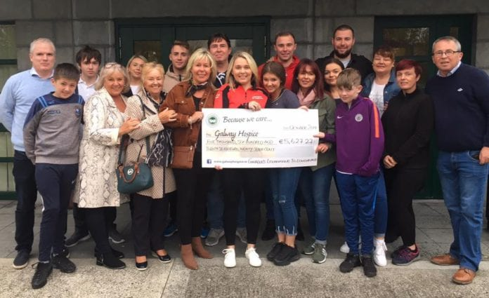 Galway Daily news memorial cycle raises over €5,500 for Galway Hospice