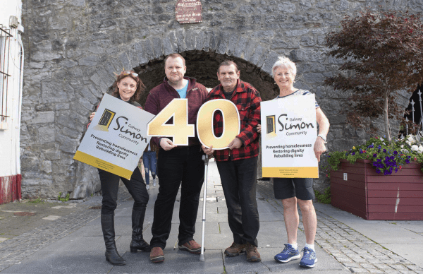 Galway Daily news 40 years of the Galway Simon Community