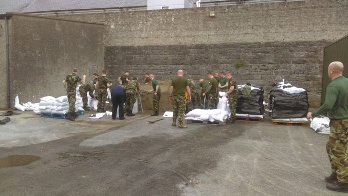 Galway Daily news 20,000 sandbags being deployed in the city