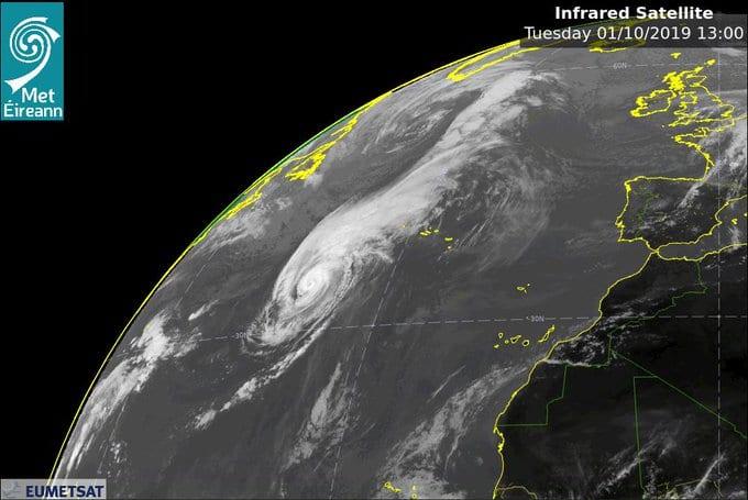Galway Daily news Storm Lorenzo orange warning extended