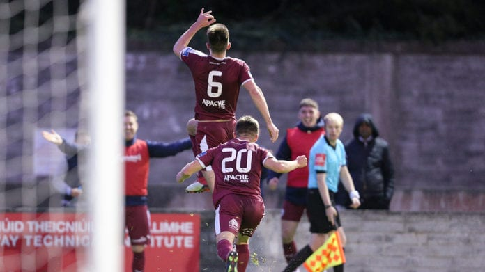 Galway Daily soccer Maurice Nugent signs new deal with Galway United