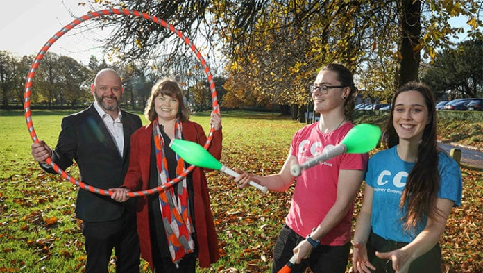 Galway Daily news NUIG and Galway Community Circus partnership