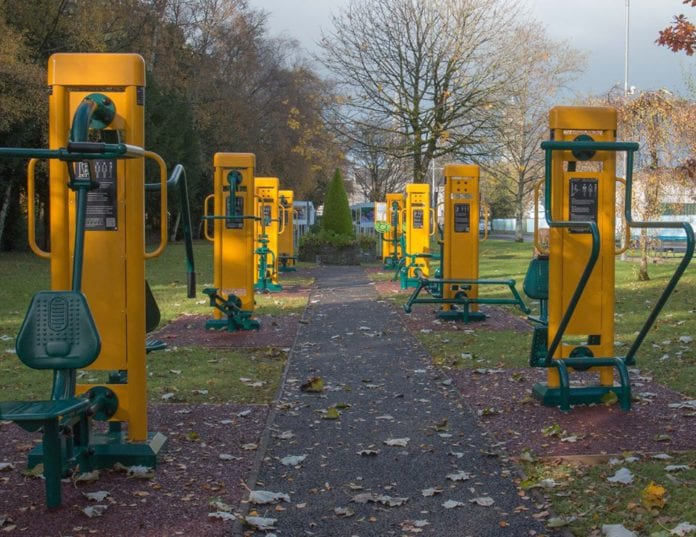Galway Daily news new outdoor gym unveiled in Portumna