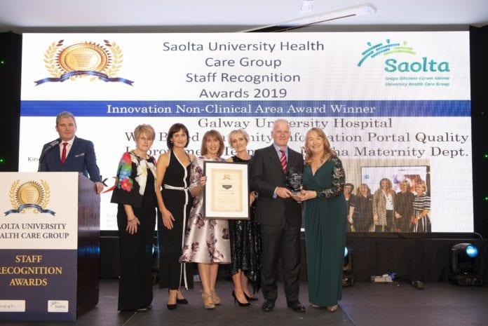 galway daily saolta awards stafff uhg