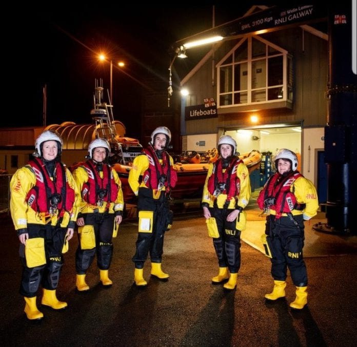 Galway Daily news RNLI Perfect Storm Christmas fundraiser
