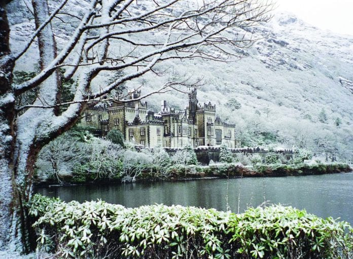 Galway Daily life & style Christmas at Kylemore Abbey