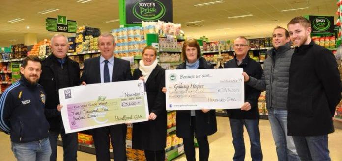 Galway Daily news Headford GAA club raises €7200 for two local charities