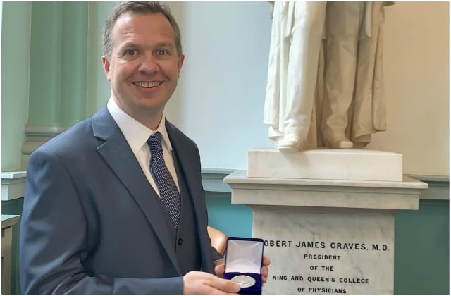 Galway Daily news UHG consultant honoured for work with NASA and drones