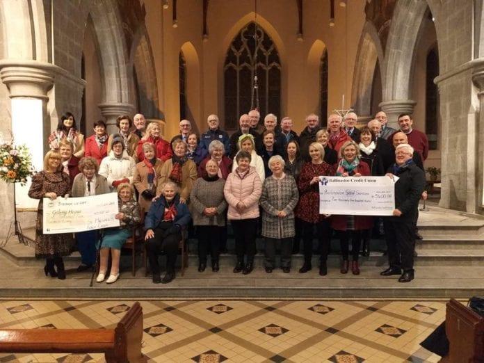 Galway Daily news Ballinasloe Choir raises over €10,000 for worthy causes