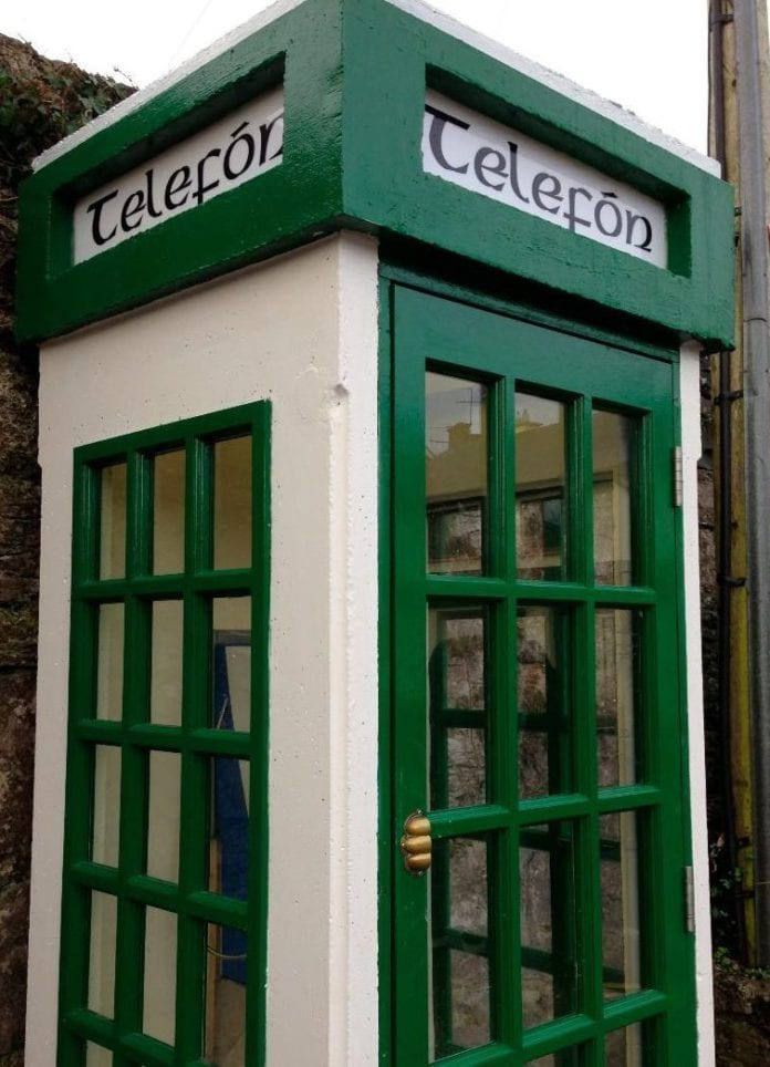 Galway Daily news Defibrillator in a phone box Oranmore