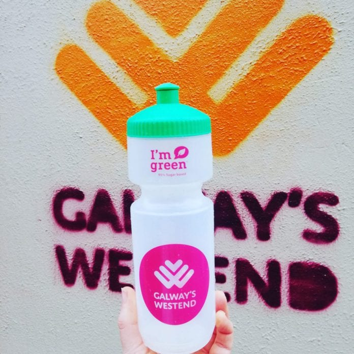 Galway Daily news westend reusable water bottle
