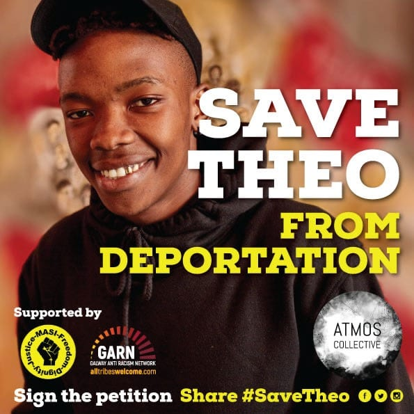 Galway Daily news Petition to save theo from deportation