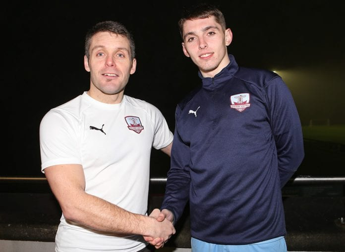 Galway Daily sports Cian Murphy signs contract extension with Galway United