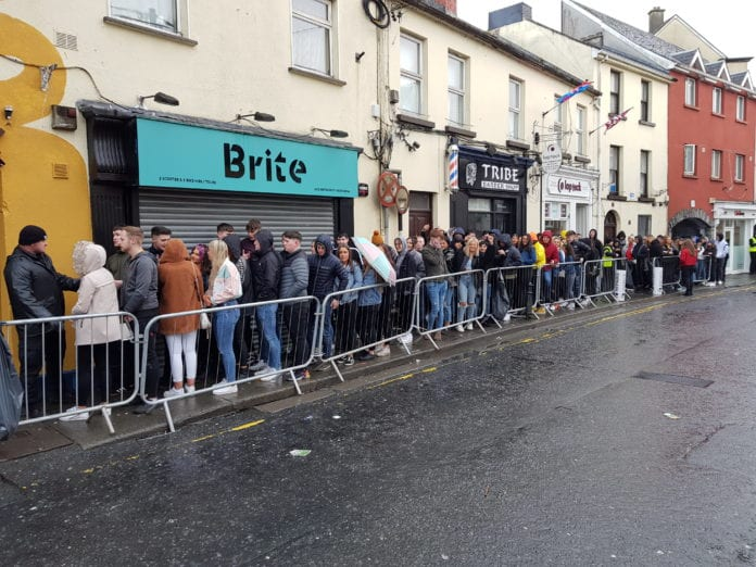Galway Daily news Donegal Tuesday brings massive crowds to Eyre Street