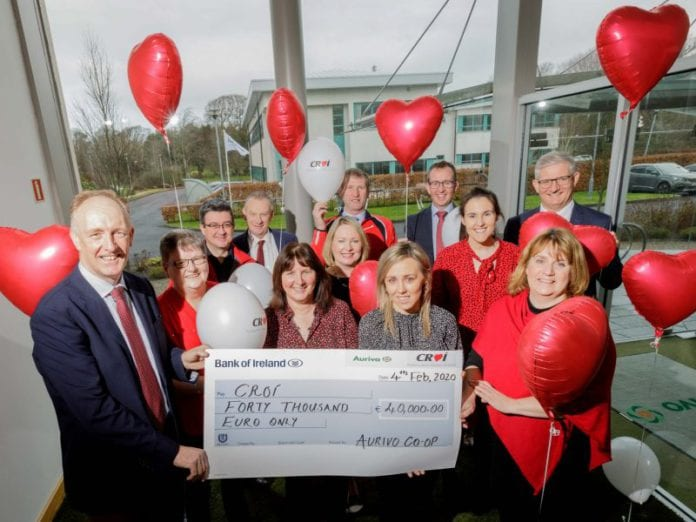 Galway Daily news Croí receives €40,000 from agri co-op