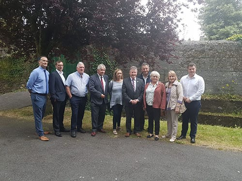 Galway Daily news Loughrea moat walk funding
