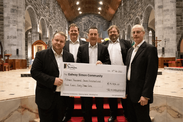 Galway Daily news Christmas concerts raise €50k for homelessness services