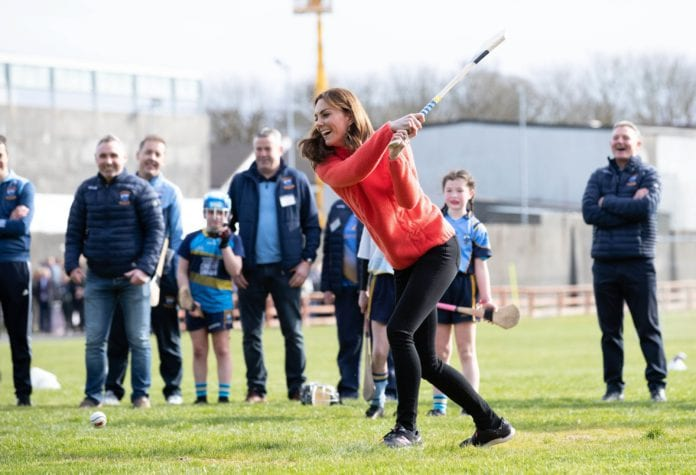 Galway Daily news Royal visit wraps up with hurling