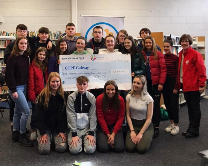 Galway Daily news Students at the Jes raise almost €10,000 for homeless services