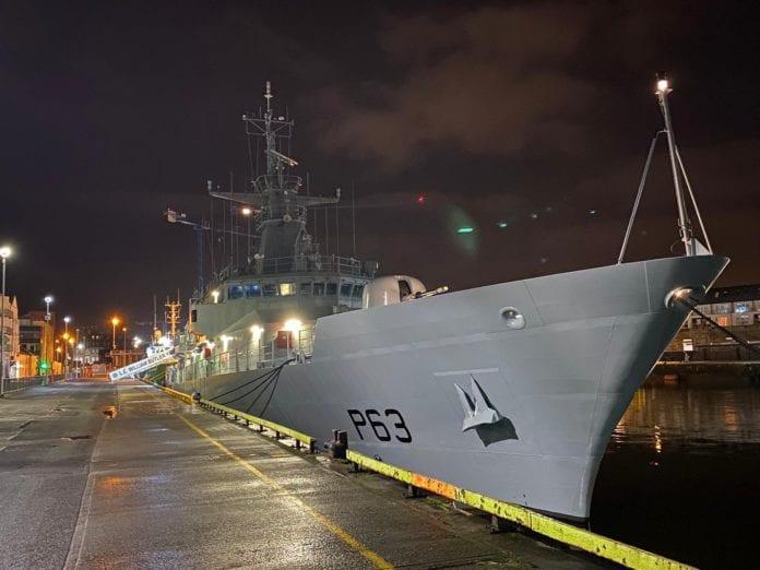 Galway Daily news Coronavirus: Navy ship docks in Galway to assist pandemic response