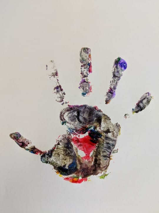 hand print galway daily charity