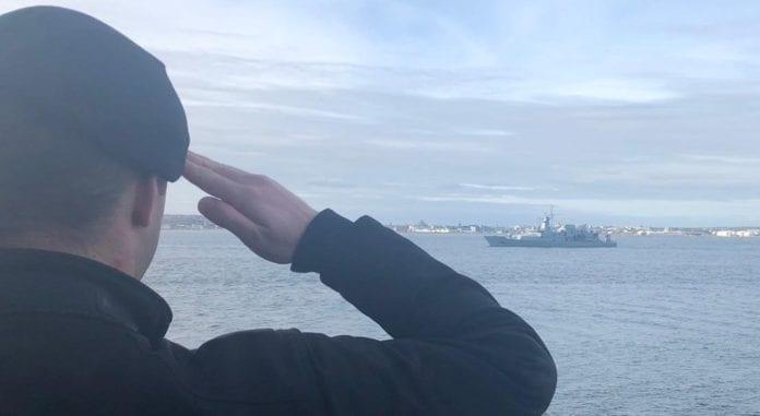 Galway Daily news Coronavirus: Fresh navy ship docks in Galway to help in crisis