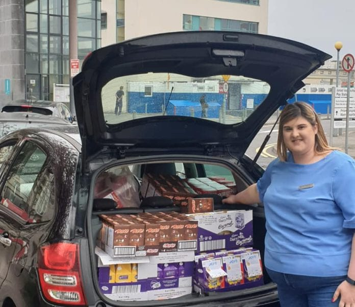 Galway Daily life style JCI Galway hop to hospitals to deliver Easter eggs