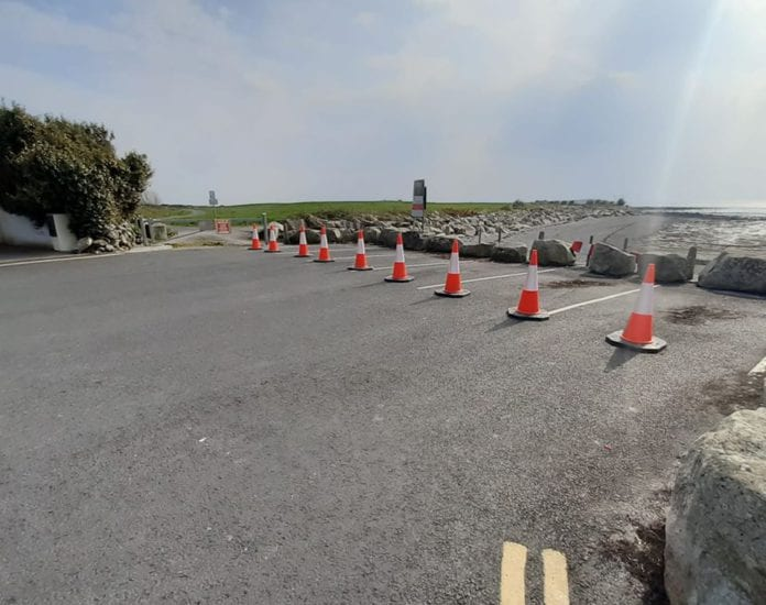 Galway Daily news Social distancing prompts closure of beach parking and Lough Rusheen park