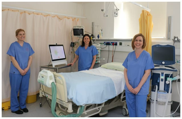 Galway Daily news New video call system connects ICU patients with their families at UHG