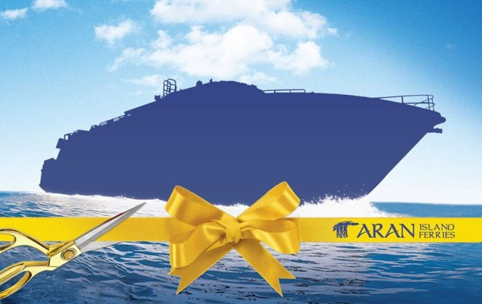 Galway Daily news Aran Islands Ferries adding Ireland's largest ferry to its fleet