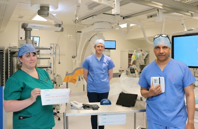 Galway Daily news Galway Cardiology team carries out clinical trial on patients with heart failure