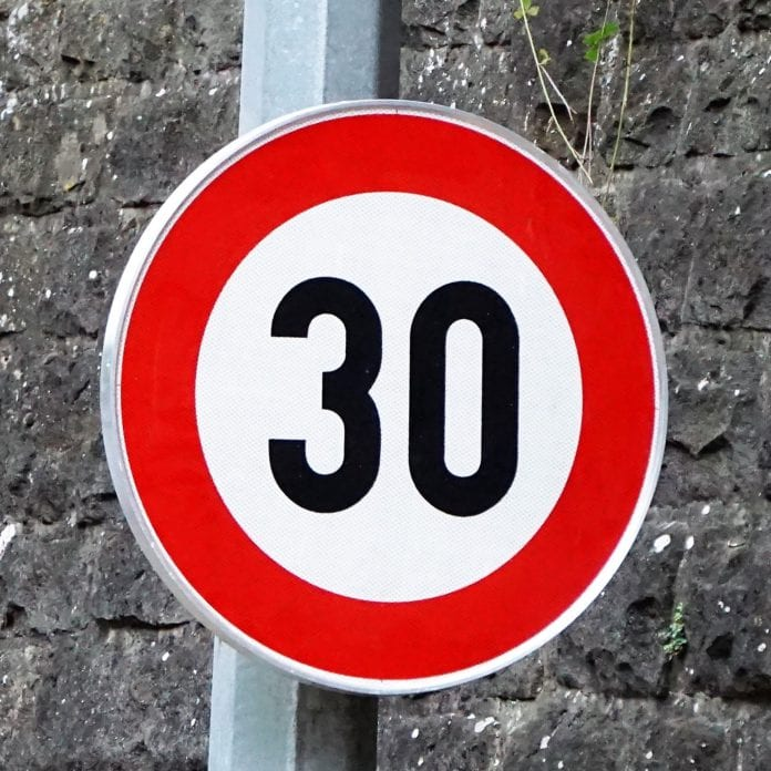 galway daily 30kmh speed limit
