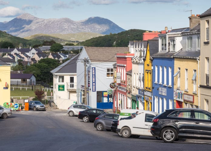 clifden town portumna funding regeneration galway town