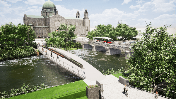 Galway Daily news City Council issues CPO notice for Salmon Weir pedestrian bridge