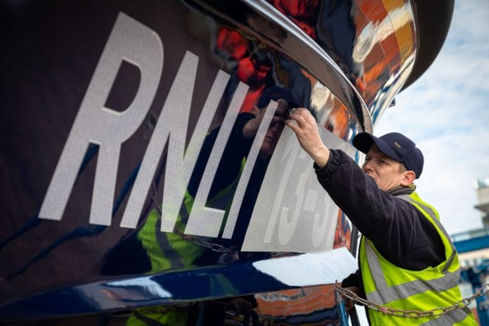 Galway Daily news New Clifden RNLI lifeboat commemorates volunteer in 'Launch a Memory' campaign