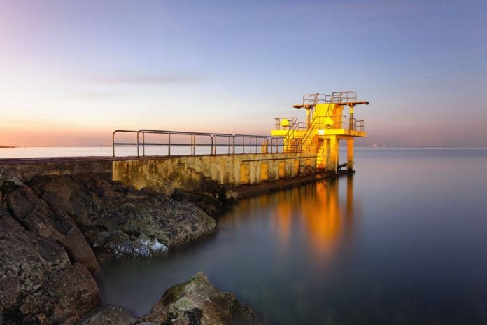 Galway Daily news Blackrock Diving Tower reopens with monitoring of crowds