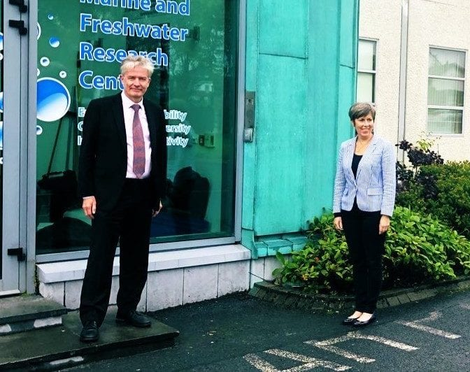 Galway Daily education GMIT President welcomes Australian Embassy Head of Mission