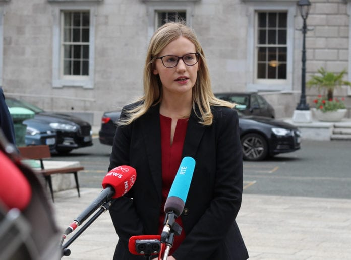 galway daily news claire kerrane at dáil