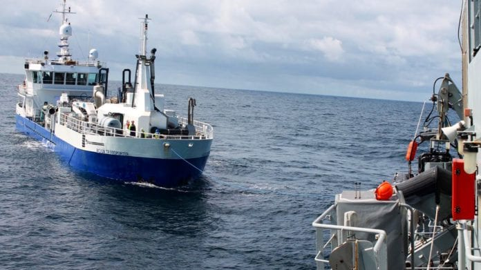Galway Daily news Navy rescues damaged ship drifting towards the rocks off Galway coast
