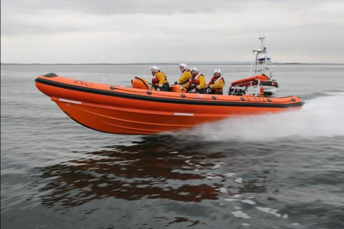Galway Daily news Galway Lifeboat rescues yacht with broken mast in Galway Bay