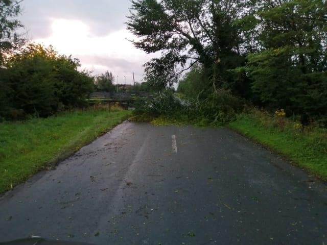 Galway Daily news Storm Ellen: Update on road blockages and fallen debris