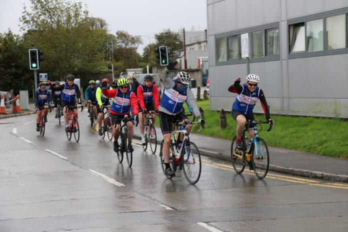 Galway Daily news UHG staff in ICU charity cycle to Dublin aiming to raise €100,000