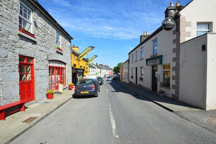 galway village clonbur bank of ireland