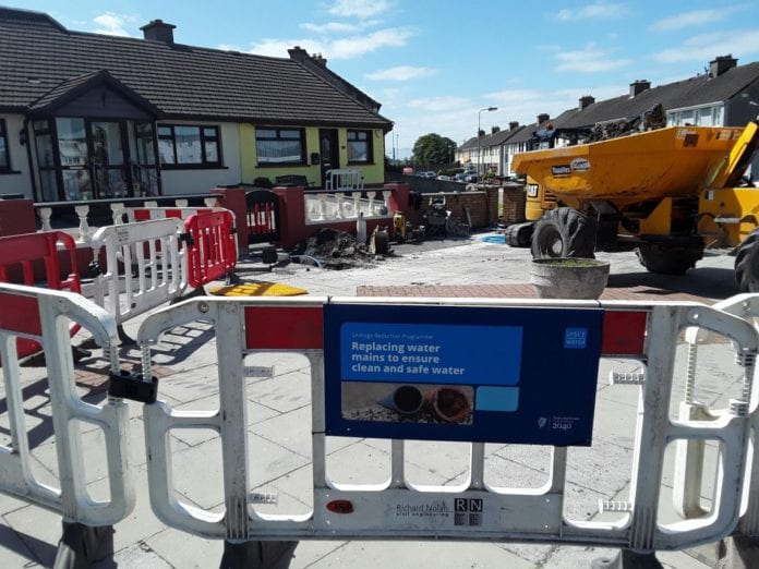 Galway Daily news Irish water replaces 1.2km of leaky mains in Mervue